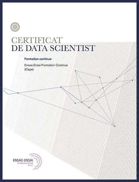 Plaquette Certificat Data Scientist